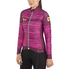 Alé Cycling Graphics PRR The End Maillot manga larga Mujer, amarone red
